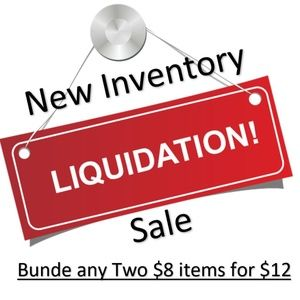 Sale - Bundle any Two $8 items for $12